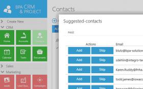 CRM 2015 wybór kontaktów